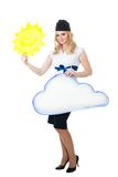 Good weather forecast Royalty Free Stock Photography