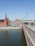 Good weather in Moscow Stock Photography