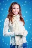 Good winter mood Stock Photo