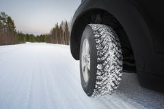Good winter tires Royalty Free Stock Photography