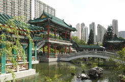 Good Wish Garden Sik Sik Yuen Wong Tai Sin Temple Religion Great Immortal Wong Prayer Kau CIm Insence Stock Photos