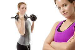 Good work out Stock Photo