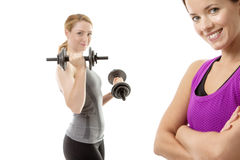 Good work out Royalty Free Stock Images