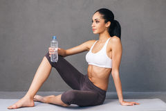 Good workout for good body. Stock Photography