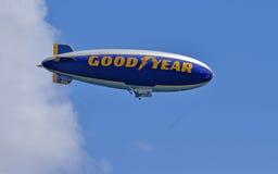 Good Year blimp Stock Photo