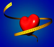 Good for your Heart - Diet Concept Illustration Stock Images