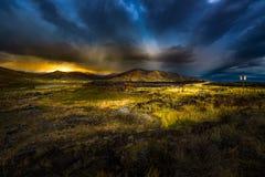 Goodale's Cutoff. Castle Rocks Scenic Viewpoint Highway 20 Idaho royalty free stock photo