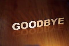 goodbye stockbilder