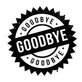 Goodbye rubber stamp Royalty Free Stock Photos