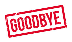 Goodbye rubber stamp Stock Image