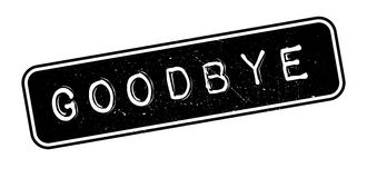 Goodbye rubber stamp Royalty Free Stock Photo