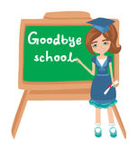 Goodbye School Stock Photo