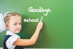 Goodbye school! Royalty Free Stock Photography