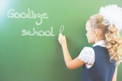 Goodbye school! Royalty Free Stock Image