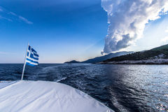 Goodbye Thassos Royalty Free Stock Image