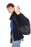 goodbye tonåringwave Arkivfoto