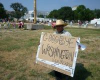 Goodbye Washington D.C. Stock Image