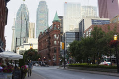 The Gooderham Building in Toronto royalty free stock images