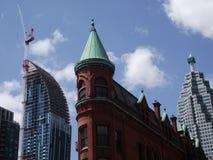 Gooderham byggnad i Toronto, Ontario, Kanada Arkivfoto