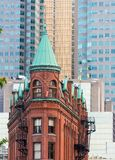 The Gooderham or Flatiron Building in Downtown Toronto Royalty Free Stock Images