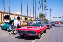 Goodguys车展2015年在Del Mar,加利福尼亚 免版税图库摄影