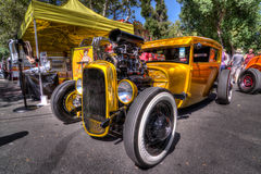 Goodguys 28th West Coast Nationals. Presented By Flowmaster photo taken by Luigi Dionisio in HDR Format Royalty Free Stock Image