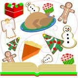goodies рождества Стоковое фото RF
