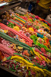 Goodies. This photo shows various colorful goodies Stock Photo