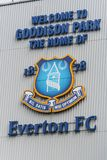 Goodison-Park Stadion Das Hauptstadion von Everton Football Club Stockfotografie