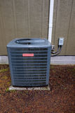 Goodman HVAC Unit on House Stock Images