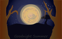 Goodnight summer Stock Photos