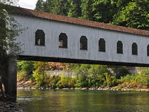 Goodpasture Covered Bridge Stock Image