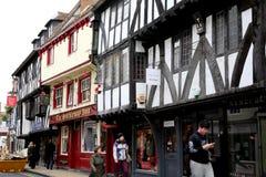 Goodramgate, York. Royalty Free Stock Photos