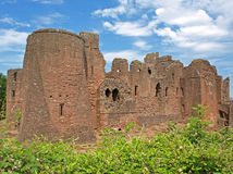 Goodrich Castle Stock Photo