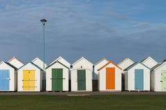 Goodrington Beach Huts. Beach Huts at Goodrington Sands, Devon, UK Royalty Free Stock Images