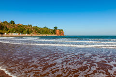 Goodrington Sands Beach Devon royalty free stock image