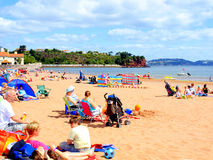 Goodrington Sands, Paignton, Devon. Stock Image