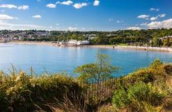Goodrington versandet Devon England Großbritannien Lizenzfreie Stockbilder