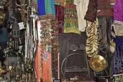 The Goods of an Arabian Bazaar in Muscat, Oman Stock Photo