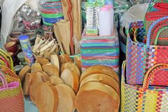 Goods on display Stock Photo