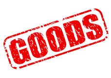 Goods red stamp text Royalty Free Stock Photography
