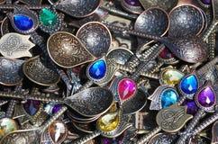 Goods for Sale at Souvenir Shop Royalty Free Stock Photos
