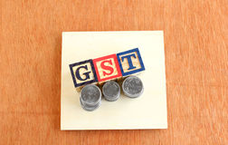 Goods and Services Tax (GST) Concept Royalty Free Stock Photography