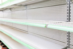 Goods shelf. Close view of goods shelf Stock Photo