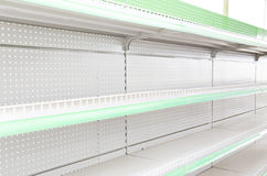 Goods shelf Stock Photo
