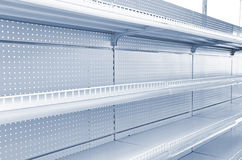 Goods shelf Stock Images