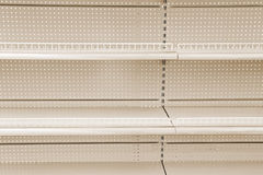 Goods shelf Royalty Free Stock Images