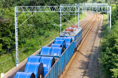 Goods Train Stock Images