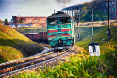 Goods train Royalty Free Stock Photography