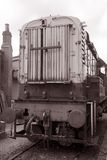 Goods Train Engine Royalty Free Stock Photography